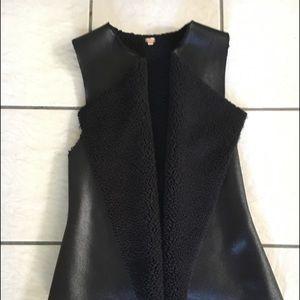 Women's Faux Leather Vest